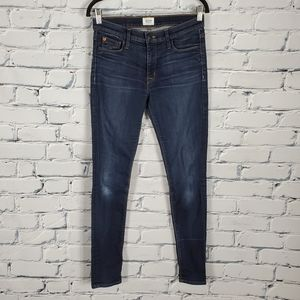 Hudson Nico Super Skinny Midrise Jeans in Shade A